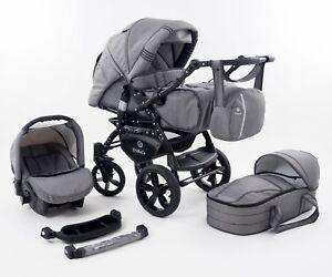 Kinderwagen TriBeCe Cloud -  Liegewanne Buggy Autositz