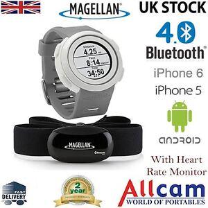 Magellan Echo Fitness Sport Orologio Cardiofrequenzimetro Gray per iPhone e Android