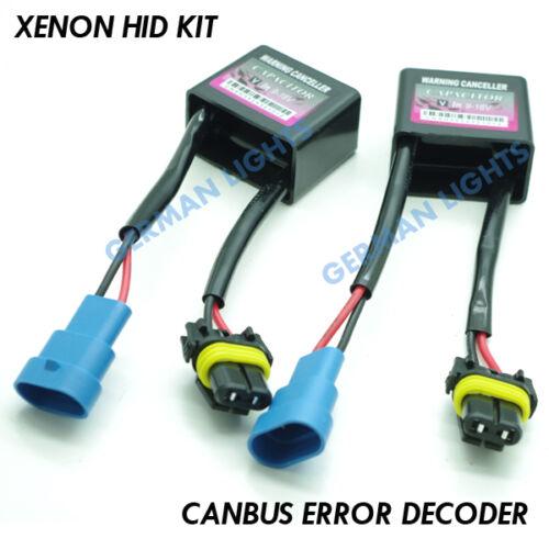 *2X XENON HID CANBUS DECODER WARNING ERROR CANCELLOR