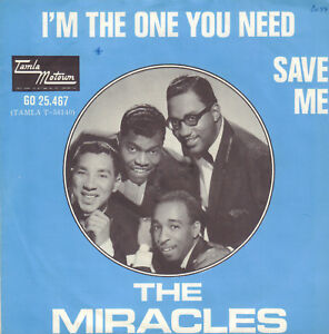 MIRACLES-THE-I-039-m-The-One-You-Need-1966-MOTOWN-VINYL-SINGLE-7-034-HOLLAND