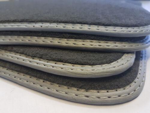 Grau Fußmatten für Mercedes C-Klasse W203 Original Qualitat Velours Automatten