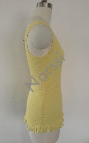 gele katoenen BntwLeuke Dkny stretch S top n8PkNwOZ0X