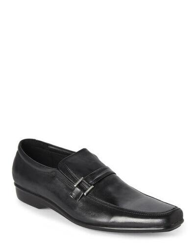 Bacco Bucci Studio Black Bastille Slip On Loafers