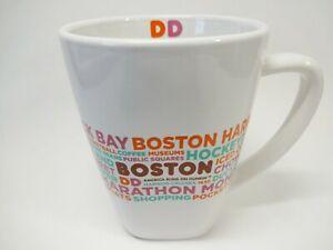 Unused Dunkin Donuts Destinations Mug Boston Massachusetts 2016 Coffee Mug