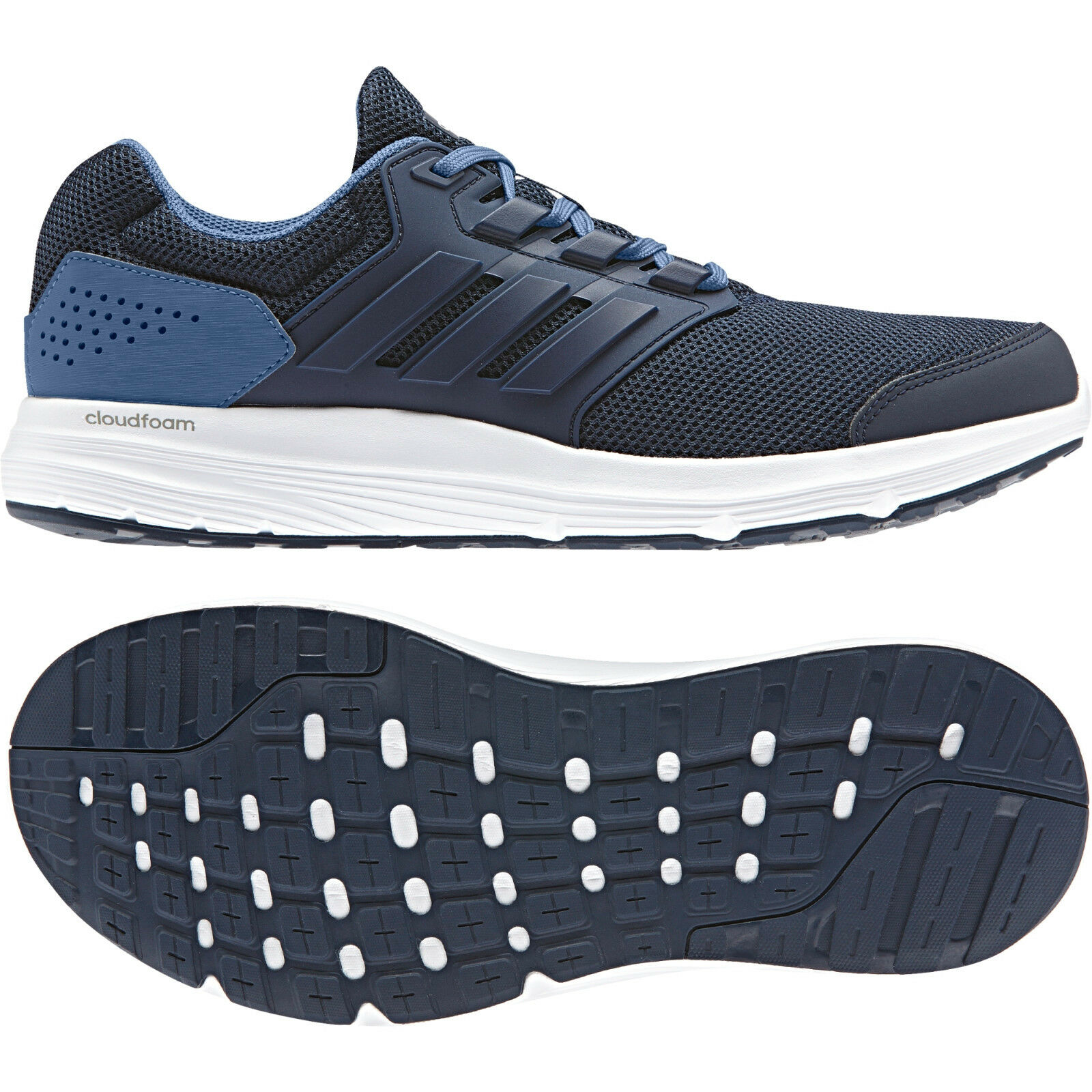 Adidas hommes Running Chaussures Galaxy 4 Trainers Cloudfoam Training CP8828 New