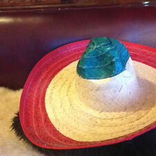 item 5 SOMBRERO MEXICAN GIANT JUMBO ZAPATA STRAW COSTUME HAT ADULT FIESTA CINCO  DE MAYO -SOMBRERO MEXICAN GIANT JUMBO ZAPATA STRAW COSTUME HAT ADULT FIESTA  ... ac0375be26c7
