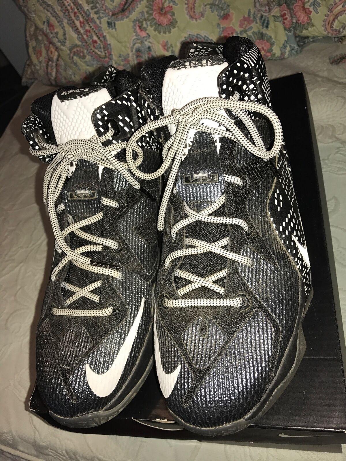 Nike lebron bhm james 7 y xii bhm lebron 718825-001 e53743
