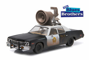 86423-GreenLight-Dodge-Monaco-034-blues-brothers-034-1974-1-43