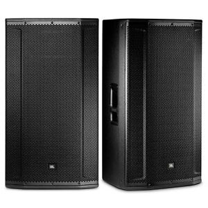 jbl srx835p 3 way active 15 pa self powered system dj event pa speaker pair 847169045554 ebay. Black Bedroom Furniture Sets. Home Design Ideas