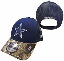 37fbaad76 Dallas Cowboys Navy Realtree Trucker 9FORTY Adjustable Snapback Hat   Cap