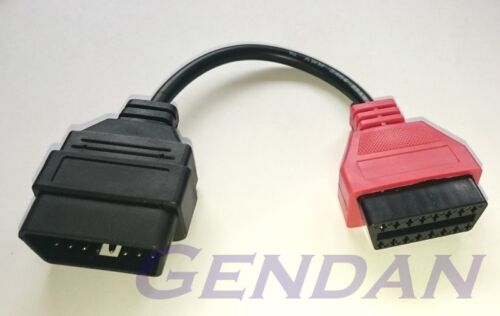 Adapter 2 Red SRS Airbag Adaptor Cable for MultiECUScan Package
