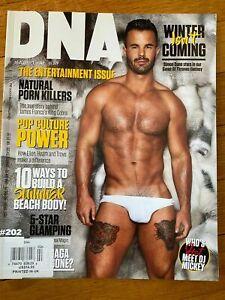 DNA Magazine #202 - Russell Fleming / Josh Brandao / Christian Scott / Gay Int