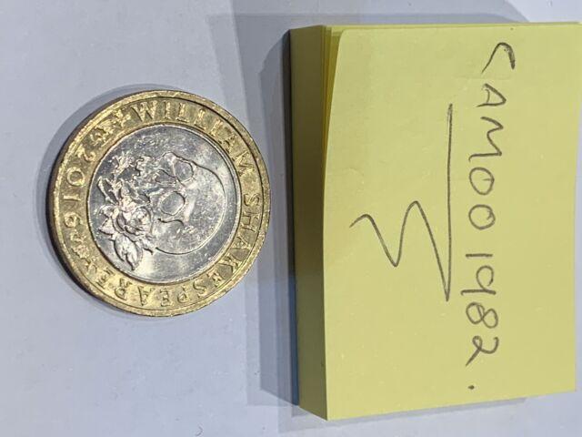 shakespeare skull coin value