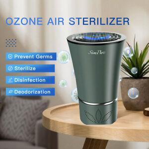 Car Air Purifier Ozone Generator Ionizer Cleaner Odor Smoke Remove Sterilizer