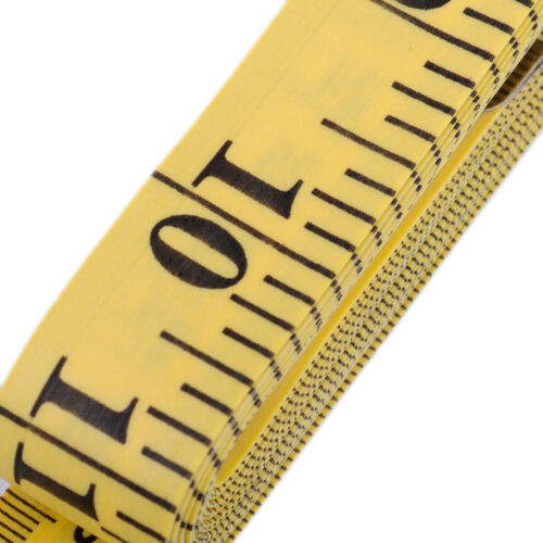 3M Seamstress Sewing Measuring Cloth Tailor Tape Measure Tool Yellow 120/'/'