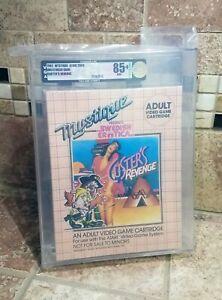 Custer's Revenge Atari 2600 VGA 85+ GOLD HISTORICALLY SIGNIFICANT 1982 Not Wata