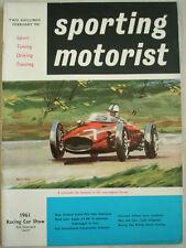 Sporting Motorist Feb 1961 Jagaur 3.4 MKII Automatic