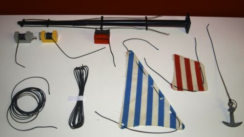 Segelseil,Piratenschiff,Seilwinde,100m,Schnur,Rope,Corda,Technic,Tau,Strick
