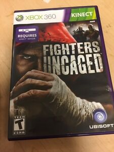 Fighters Uncaged Microsoft Xbox 360 Kinect 8888526575 Ebay