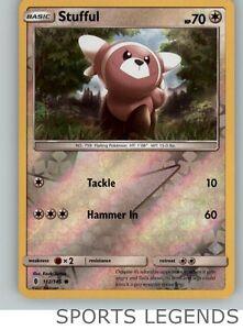 Stufful 112//145 Guardians Rising Reverse Holo Mint Pokemon Card