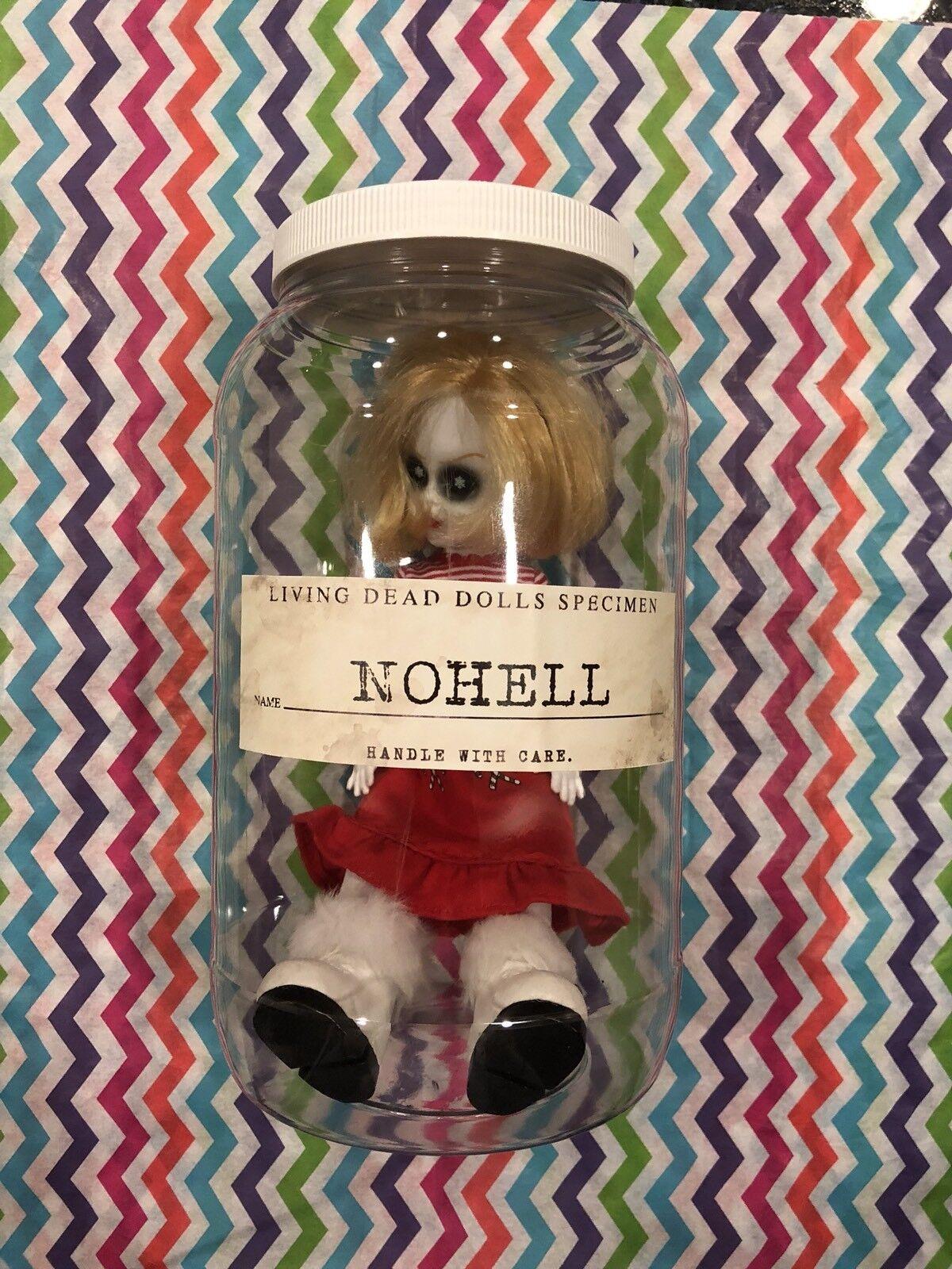 Mezco Living Dead Dolls espécimen Tarro nohell Ángel de Navidad de un tipo de envío gratis