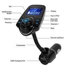 Car Fm Transmitter Wireless Mp3 Radio Adapter Handsfree Usb Charge Mp3 Player Fits 1997 Toyota Corolla