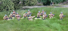 28mm WW2 Russian Soviet SMG Squad (12 figures). Bolt Action Chain of Command
