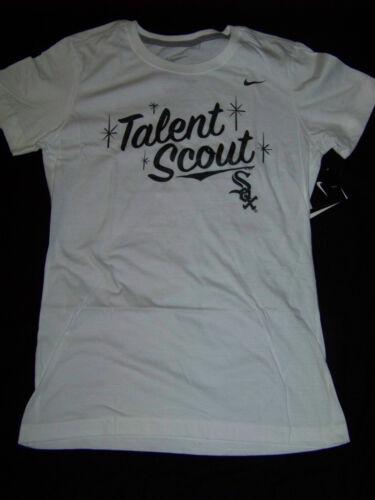 Femme Nike Chemise White Nwt Chicago Sox Fit Slim q6fxfw4C