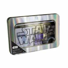 Offiziell Lizenziert Star Wars Schreibwaren Set Notizbuch,stifte,clips und band