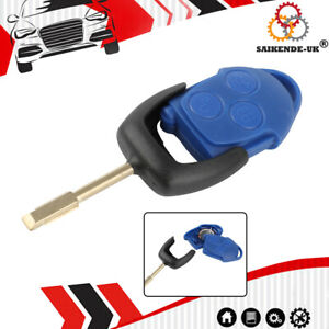 Auto Schlüssel Gehäuse + Akku Für Ford Transit 2.2 TDCi MK7 Funk Fernbedienung