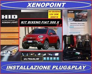 KIT-XENON-H4-BIXENO-FIAT-500-X-6000-K-35W-3-0-ULTRASLIM-CANBUS-XENO-BIXENON-LED