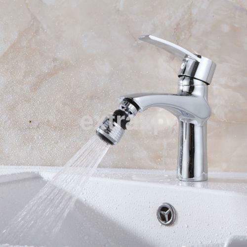 360° Rotate Swivel Nozzle Water Saver Taps Aerator Diffuser Faucets Filter US