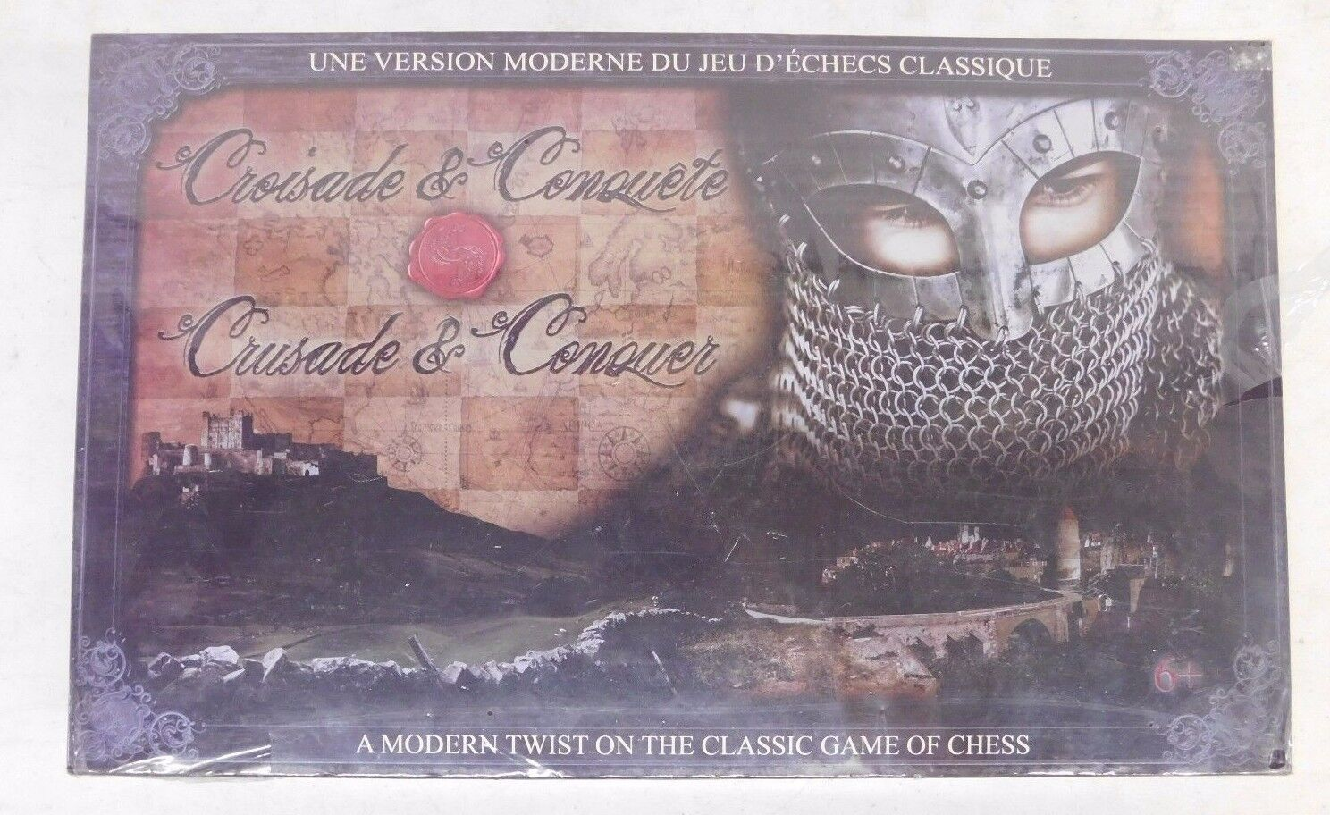 Imports Dragon CRUSADE & CONQUER A Modern Take On The Classic Game Of Chess New