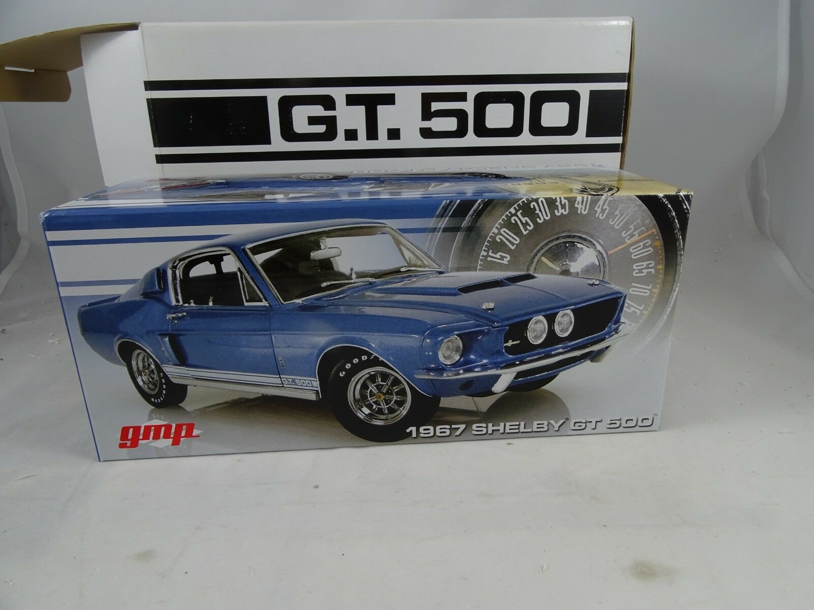 1 24 GMP  G2403201 - 1967 SHELBY GT 500 Blau - RARITÄT §