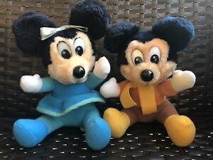 Mickeys Christmas Carol Minnie.Details About Vintage Mickeys Christmas Carol Minnie Mouse Mickey Set Plush Stuffed Animal
