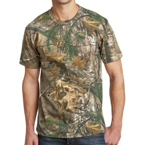 Max 5 Russell Mens Camo T-Shirt Realtree Xtra AP Cotton Hunting S-XL 2X 3X NEW