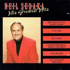 (CD) Neil Sedeka - His Greatest Hits - Oh Carol, Happy Birthday Sweet Sixteen