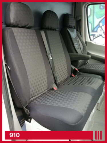 MAß Schonbezüge Sitzbezüge Sitzbezug  Mercedes Sprinter 1+2 Sitzer   910