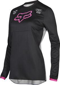 Fox-Racing-Kids-Girls-180-Mata-Black-Pink-Dirt-Bike-Jersey-Motocross-ATV-MX
