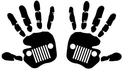 2x JEEP Aufkleber Offroad Tuning 4x4 Wrangler Gelände Allrad SUV Vintage Retro