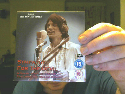 SYMPATHY FOR THE DEVIL DVD ROLLING STONES PERFECT BIRTHDAY GIFT FREE UK POSTAGE!