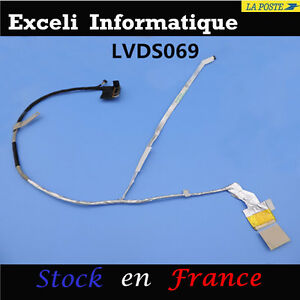 LCD-LED-PANTALLA-PANTALLA-V-DEO-CABLE-PLANO-FLEXIBLE-DISPLAY-P-N-50-4RI08-022-HP