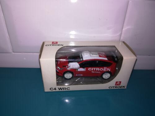01.07.18.6 voiture miniaure Norev 3 inches citroën C4 WRC