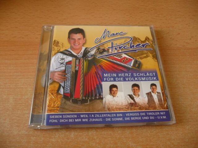 CD Marc Pircher - Mein Herz schlägt für die Volksmusik - 2007 incl Sieben Sünden