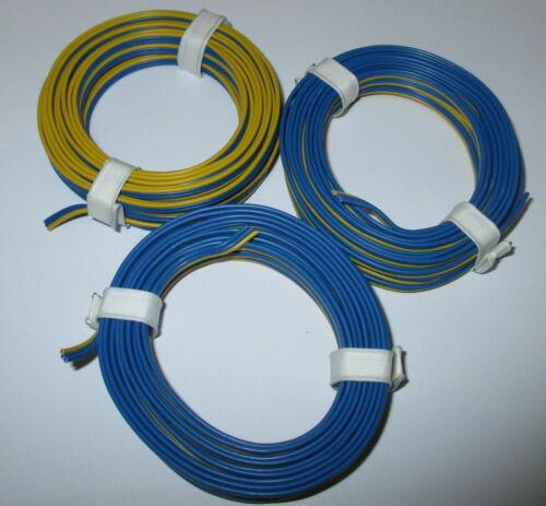 Drilling Toron 3x5m Märklin bleu-jaune-bleu Nouveau 1 m = 0,53 €