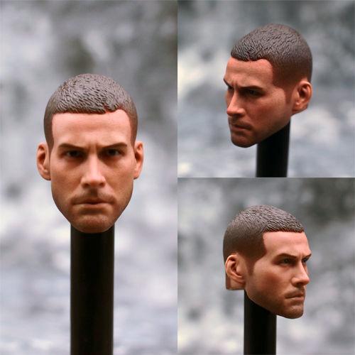 """1//6 Scale Jake Gyllenhaal Head Sculpt PVC Head Model For 12/"""" Man Figure Body"""