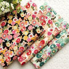 3 Pcs 45CMx50CM Cotton sewing quilt tecidos doll cloth DIY Patchwork Fabric
