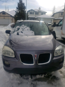 2007 Pontiac Montana (Very low kms)