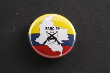 "FARC-EP Revolutionary Armed Forces Colombia Communist 1"" Pin Badge Button Party"