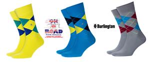 Discount-30-BURLINGTON-Socks-Tights-King-21020-Sock-Short-Cotton-Rhombus-40-46